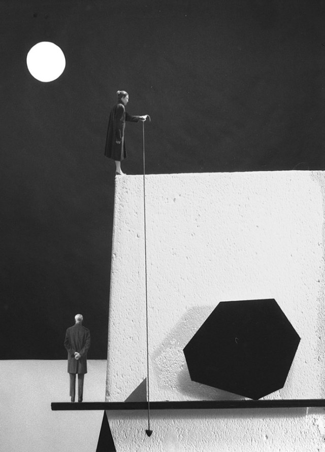 Gilbert Garcin surrealism in black and white 9
