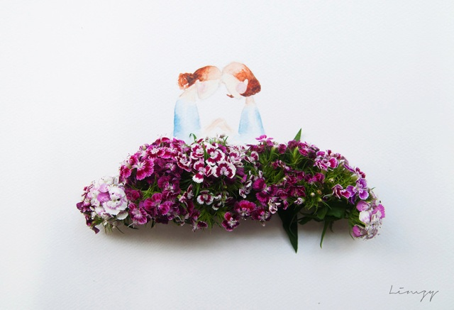 flower illustrations lovelimzy 2
