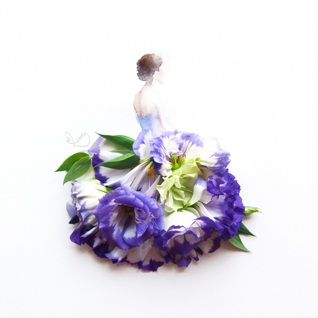 flower illustrations lovelimzy 3