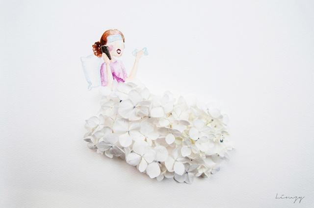 flower illustrations lovelimzy