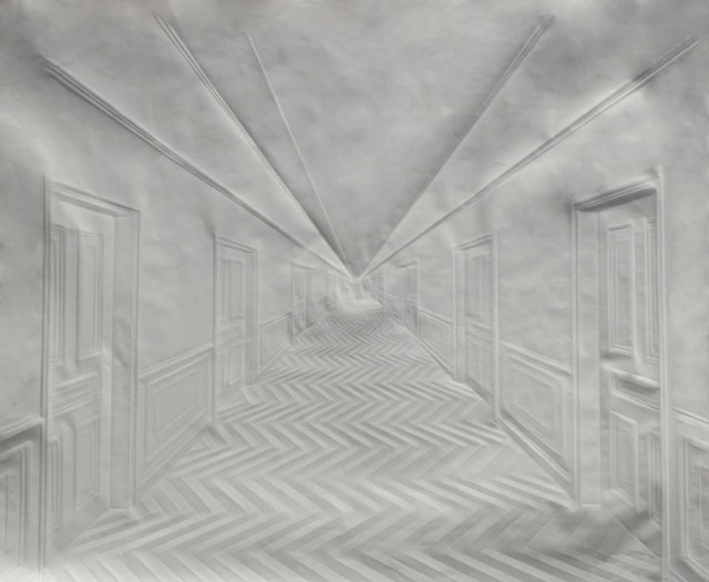 Creased Paper artworks Simon Schubert 10