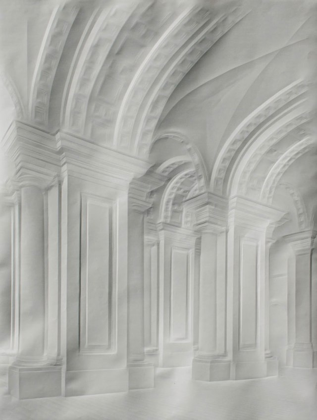 Creased Paper artworks Simon Schubert 13