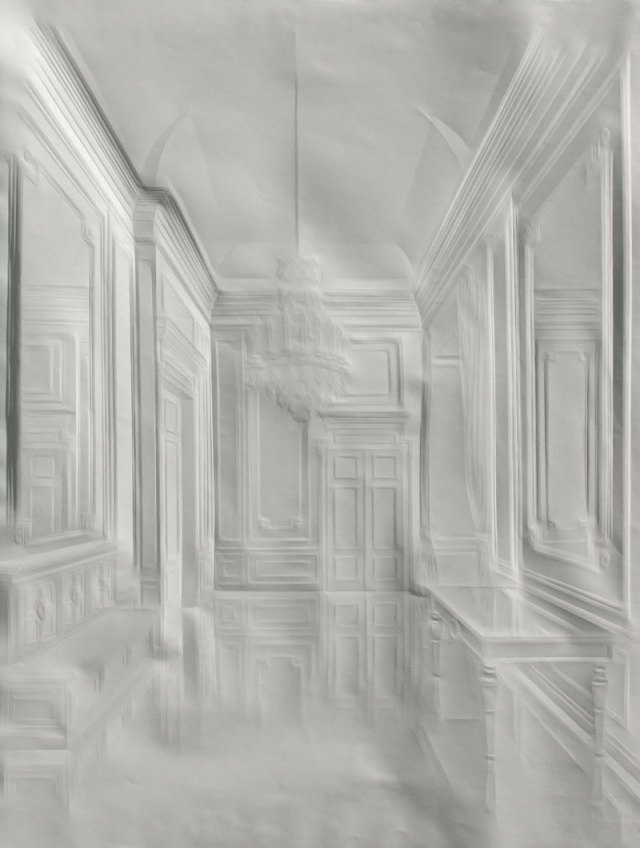 Creased Paper artworks Simon Schubert 14