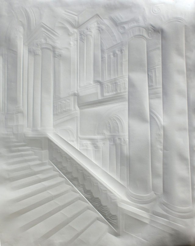 Creased Paper artworks Simon Schubert 15