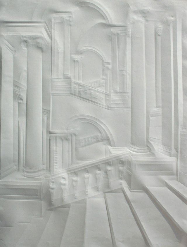 Creased Paper artworks Simon Schubert 18