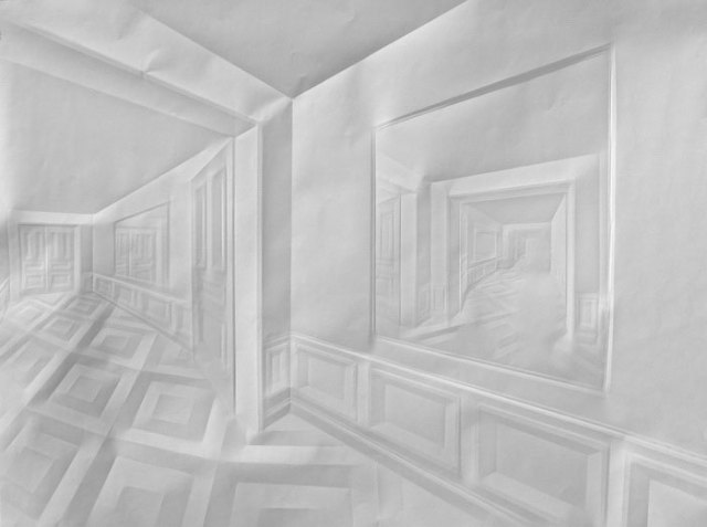 Creased Paper artworks Simon Schubert 2