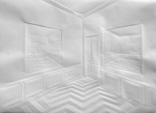 Creased Paper artworks Simon Schubert 6