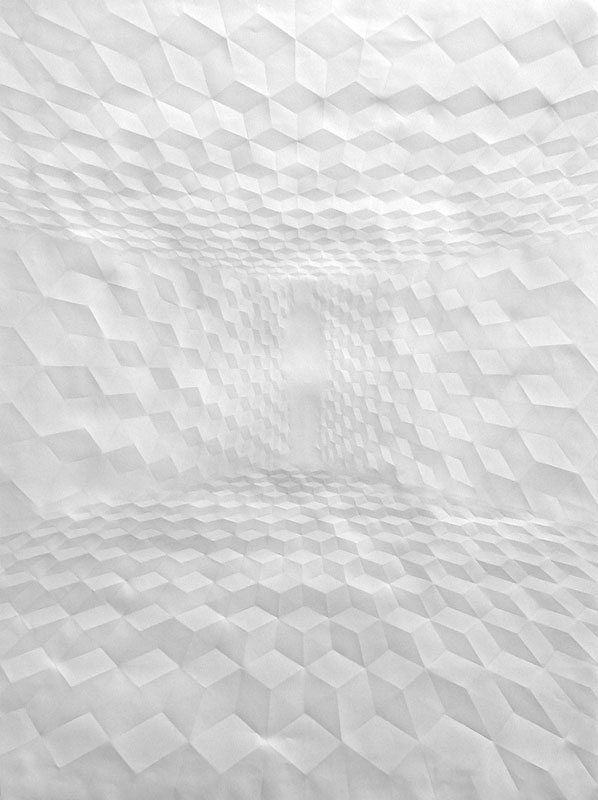 Creased Paper artworks Simon Schubert 9