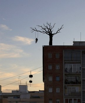 Pejac Silhouettes Optical Illusions 2