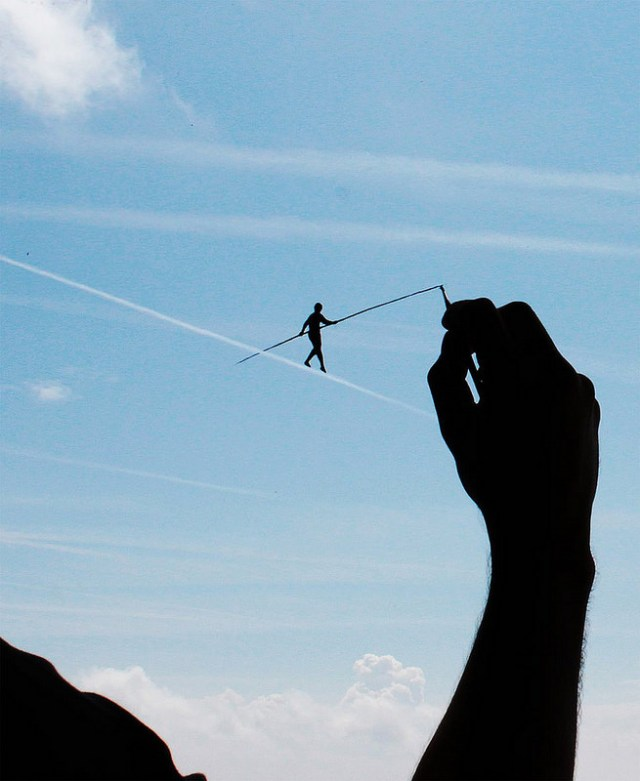 Pejac Silhouettes Optical Illusions 6