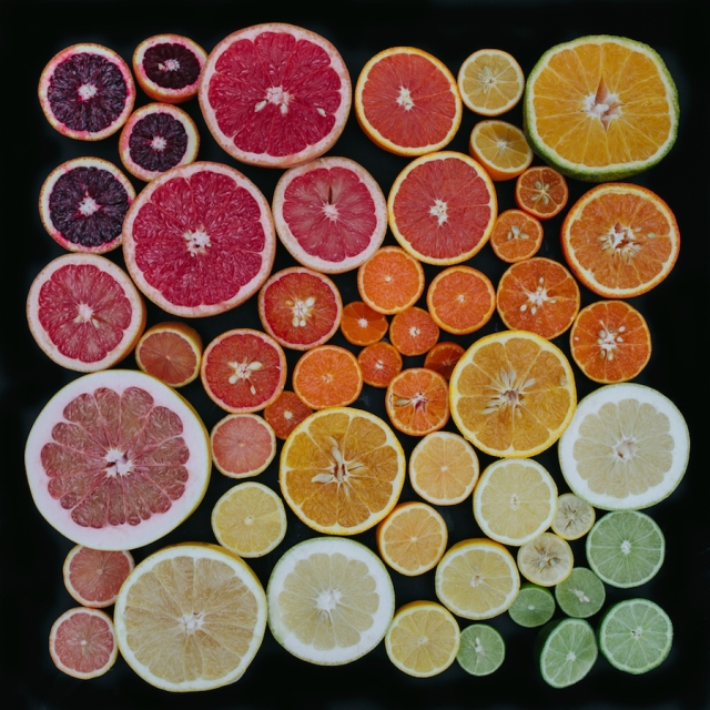 Arrangement color coded photography Emily Blincoe 4