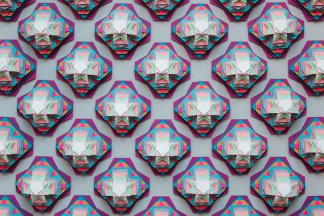 colorful paper art maud vantours 3