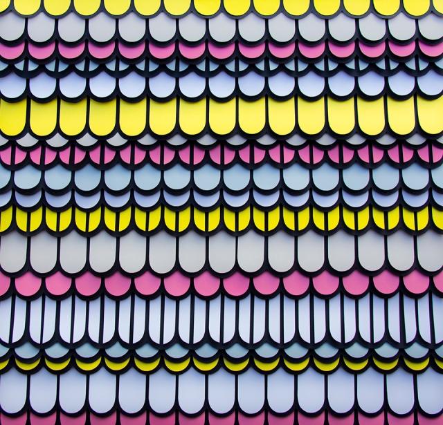 colorful paper art maud vantours 6
