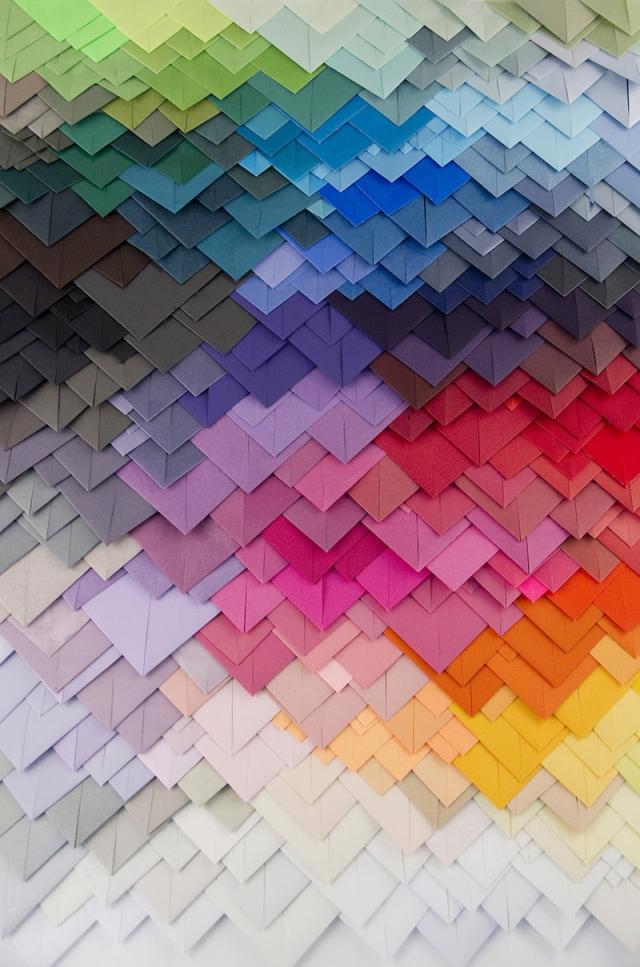 colorful paper art maud vantours