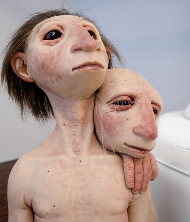 disturbing and hyperrealistic sculptures patricia piccinini