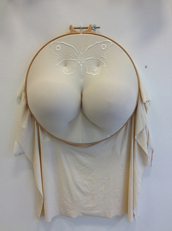 embroidery hoops with butts breasts and more Sally Hewett 4