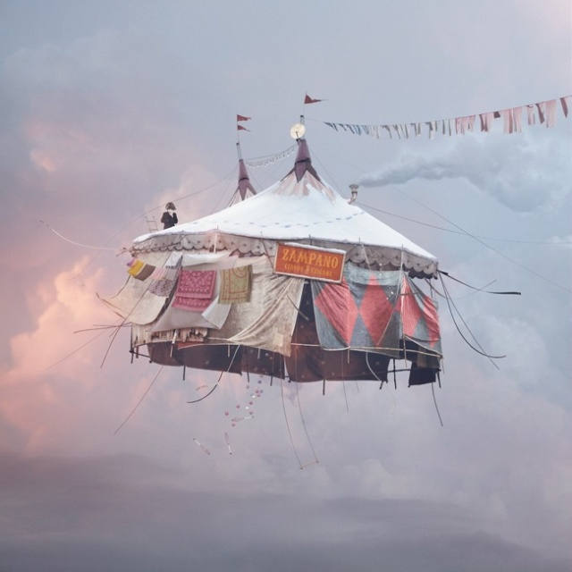 Flying Houses LAurent Chehere 4