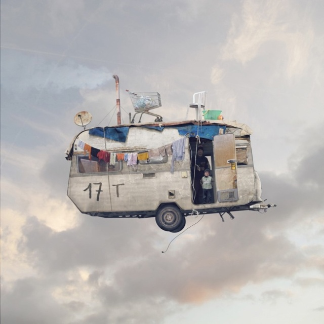 Flying Houses LAurent Chehere 6