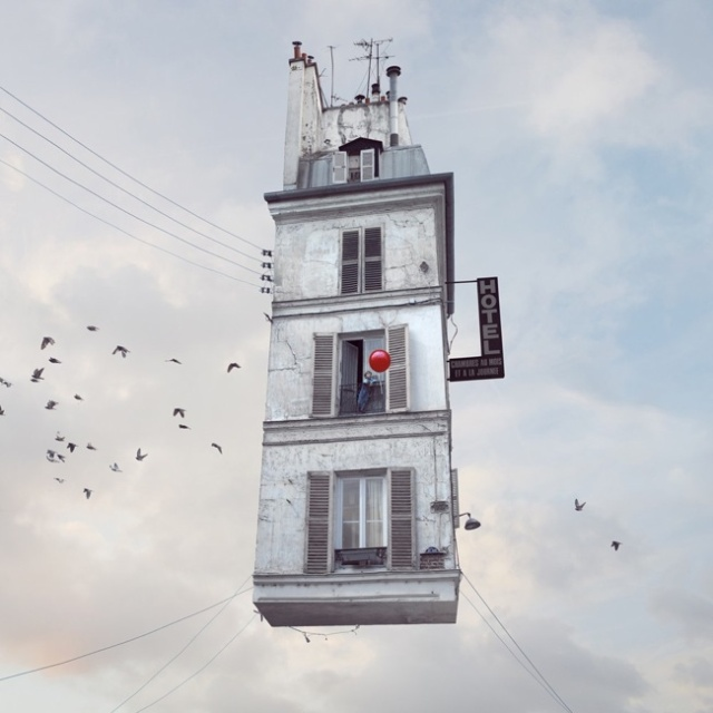 Flying Houses LAurent Chehere 9