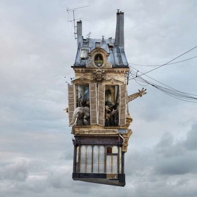 Flying Houses LAurent Chehere
