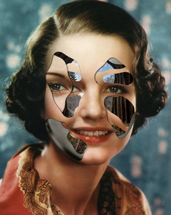 matthieu bourel faces multilayered collages 13