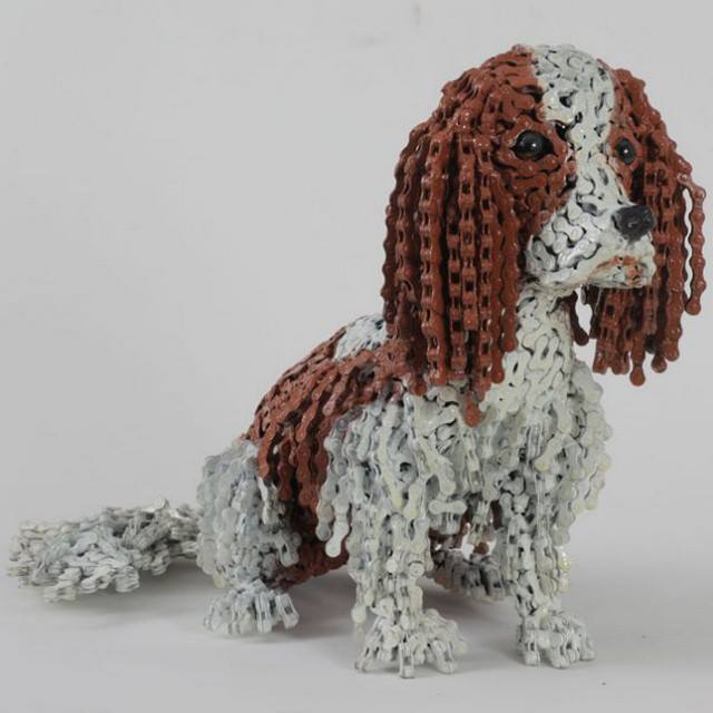 Dog Sculptures Nirit Levav Packer 14
