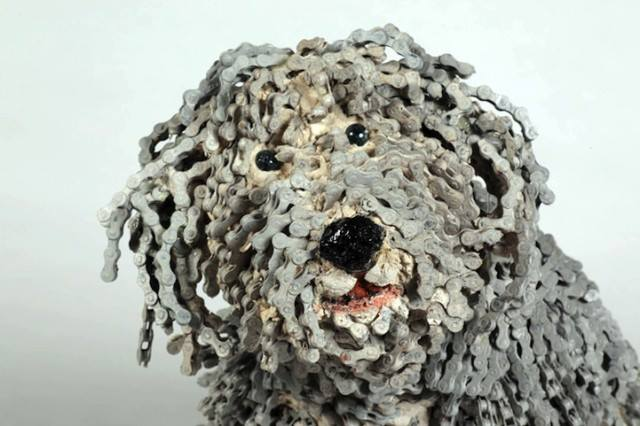 Dog Sculptures Nirit Levav Packer 15