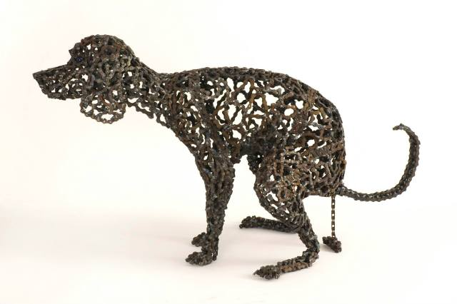 Dog Sculptures Nirit Levav Packer 173
