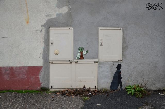 street art illusion OAKOAK 2