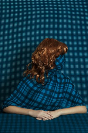 what do you hide Patterned portraits Romina Ressia 2