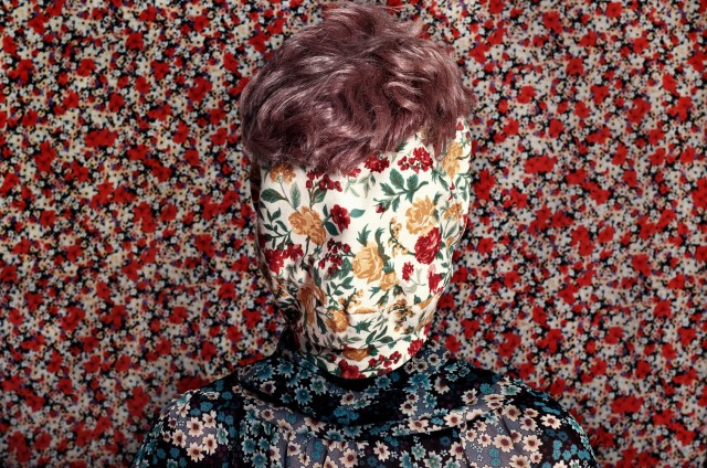 what do you hide Patterned portraits Romina Ressia 3