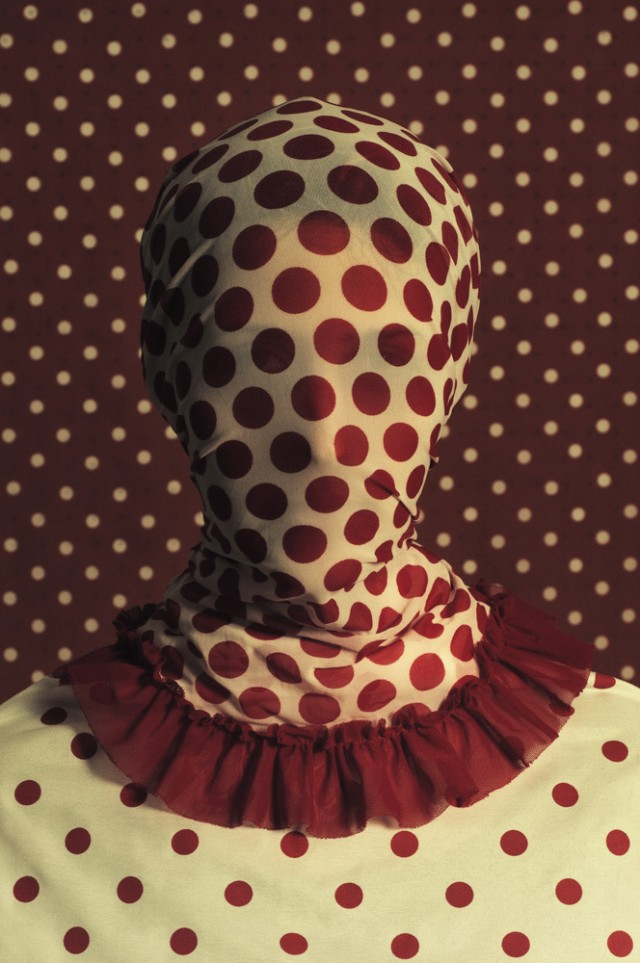 what do you hide Patterned portraits Romina Ressia 4