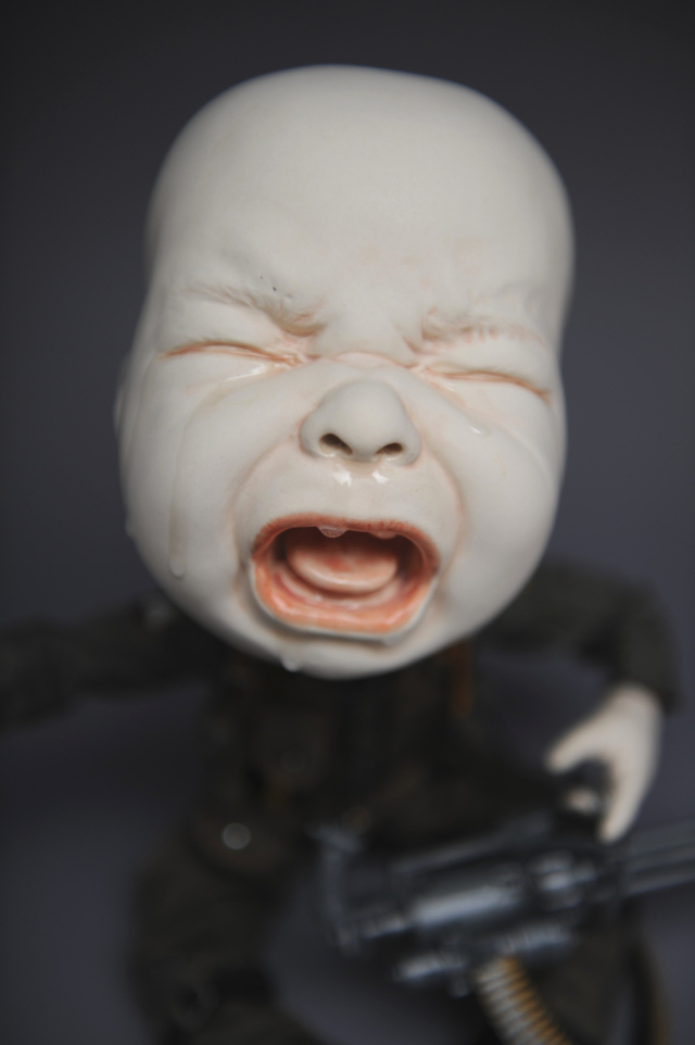 Creepy Ceramic Sculptures Johnson Tsang 10