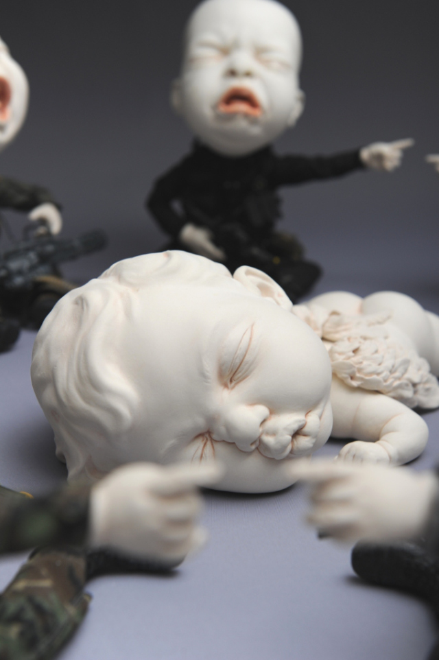 Creepy Ceramic Sculptures Johnson Tsang 12