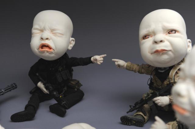 Creepy Ceramic Sculptures Johnson Tsang 16