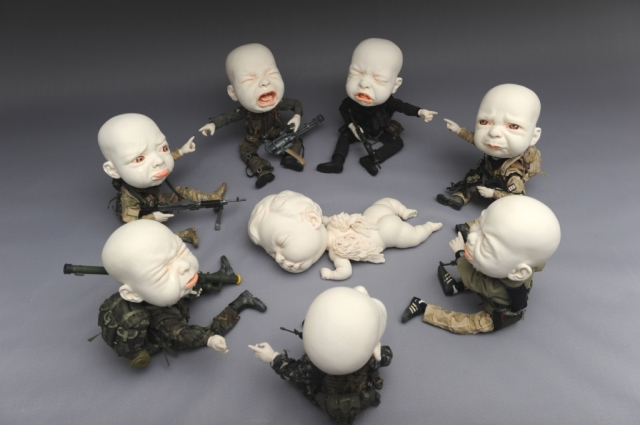 Creepy Ceramic Sculptures Johnson Tsang 17