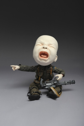 Creepy Ceramic Sculptures Johnson Tsang 2