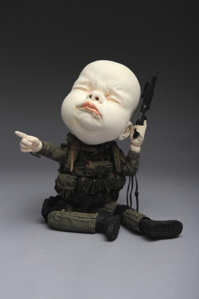Creepy Ceramic Sculptures Johnson Tsang 6