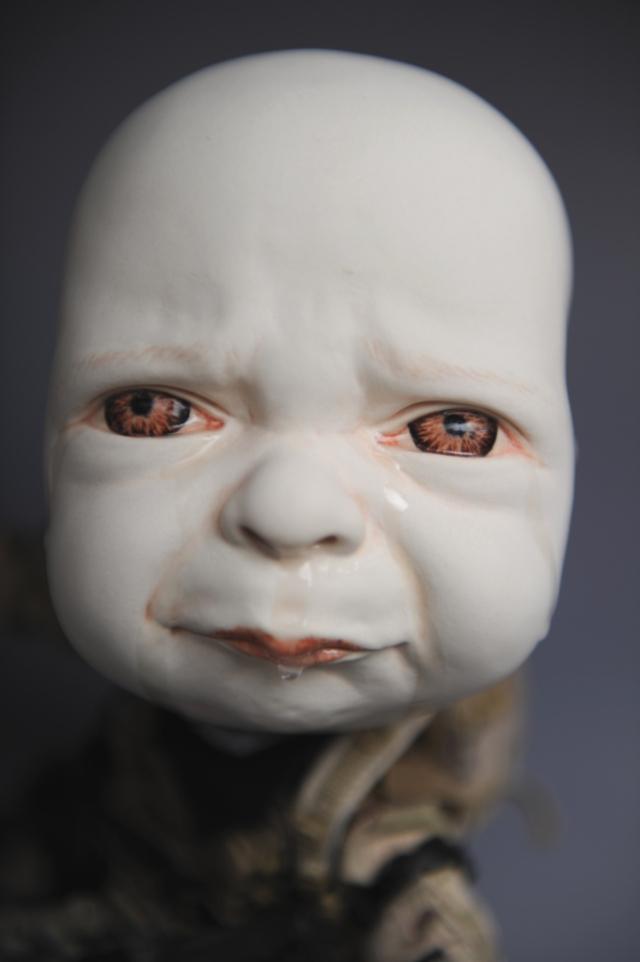 Creepy Ceramic Sculptures Johnson Tsang 9