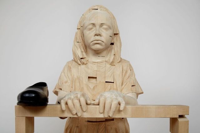 gehard demetz wood sculptures 16