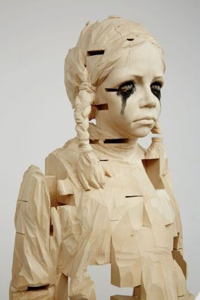 gehard demetz wood sculptures 2
