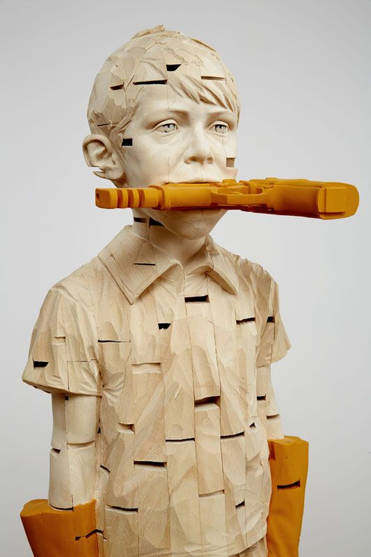 gehard demetz wood sculptures 4