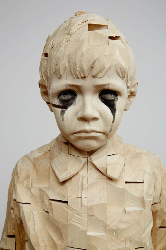 gehard demetz wood sculptures