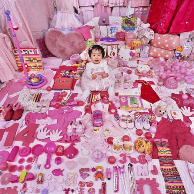 JeongMee Yoon The Pink Blue Project 0