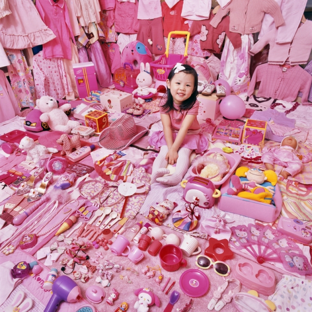 JeongMee Yoon The Pink Blue Project 3