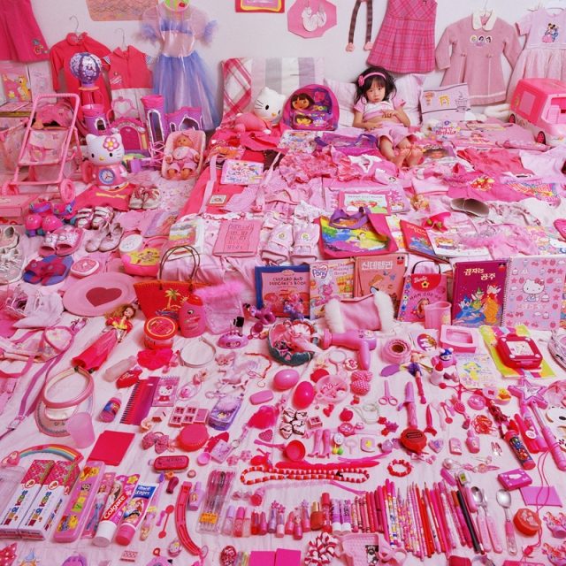 JeongMee Yoon The Pink Blue Project