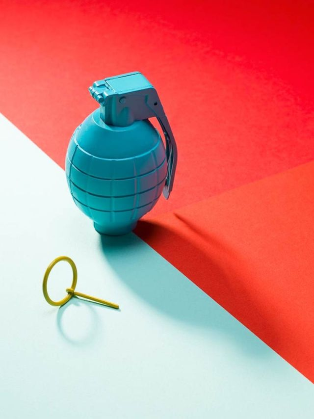 Timothy Hutto colorful object composition 9