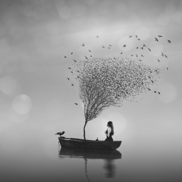 Ioannis Nikiforakis minimalism black and white