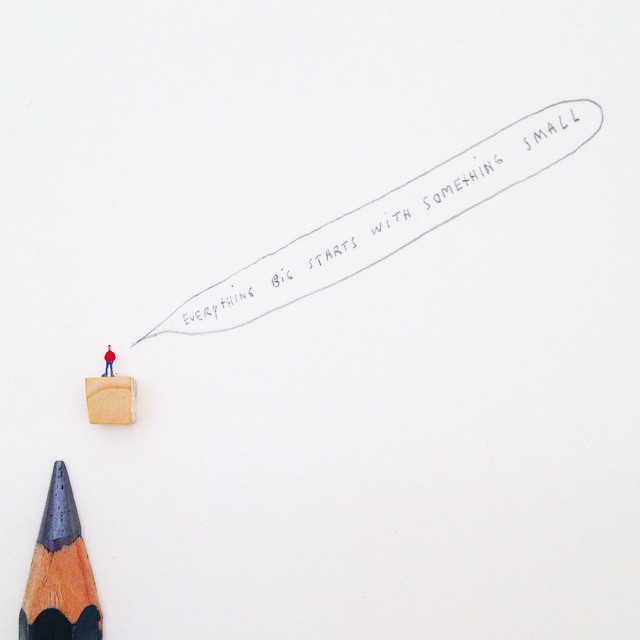Micro Sculptures  Illustrations and More  Javier Calleja 11