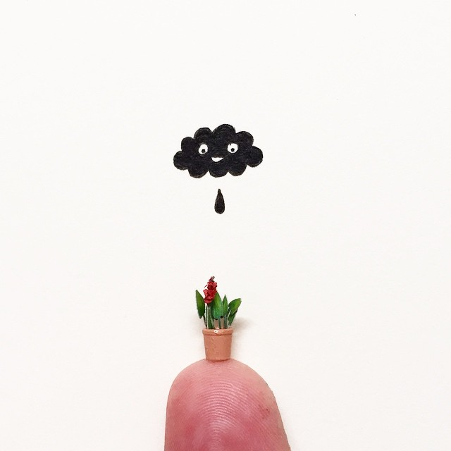 Micro Sculptures  Illustrations and More  Javier Calleja 2